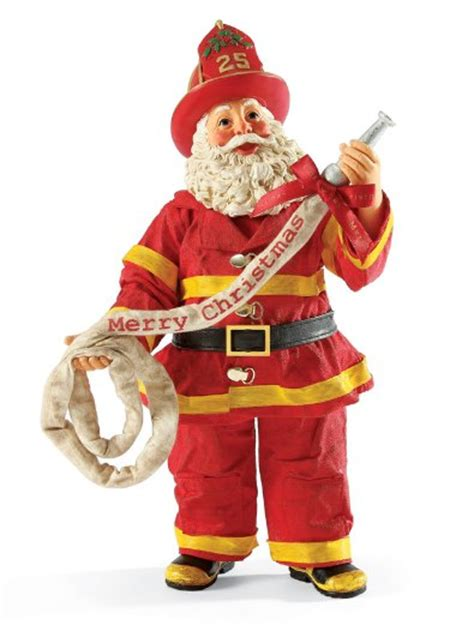 holiday routine fireman santa luckily the schedule on