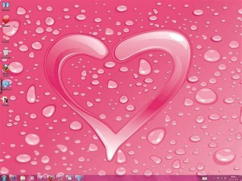 windows 7 themes love hearts hearts windows 7 themes icons cursors bird sounds