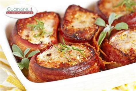 cucinare involtini di carne involtini di carne con pancetta secondo appetitoso