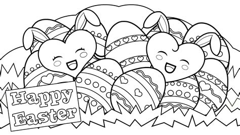 Easter Eggs Coloring Pages Online Coloring Part 2 Happy Easter Coloring Pages