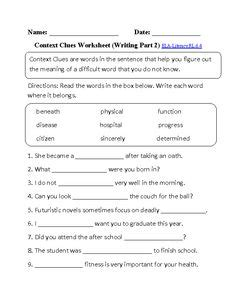 6th Grade Grammar Worksheets by 1000 Images About Express Yourself 6th On