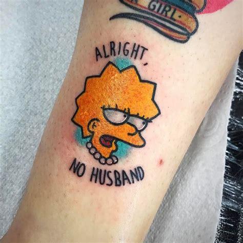 tattoo simpsons instagram m 225 s de 25 ideas incre 237 bles sobre tatuaje de los simpsons
