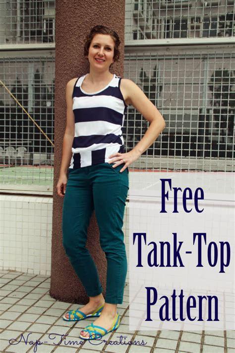 free pattern tank top free tank top pattern nap time creations