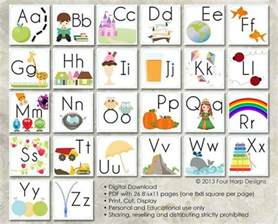 alphabet wall cards diy printable for preschool early pin animal alphabet wall stickers on pinterest