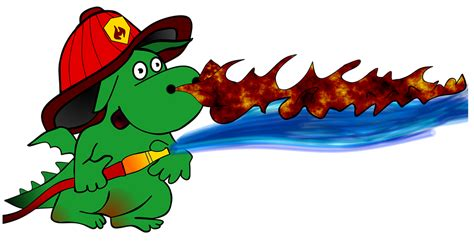 fire boat cartoon cartoon dragon fire fighter 183 free image on pixabay