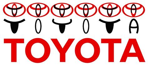 Toyota Symbol Meaning Wide Open The Secret Messages In Company Logos Are