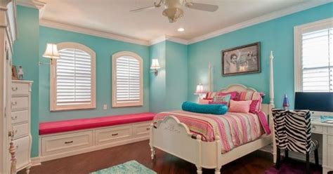 hot pink and turquoise bedroom turquoise and hot pink girls kids bedroom with wood floors