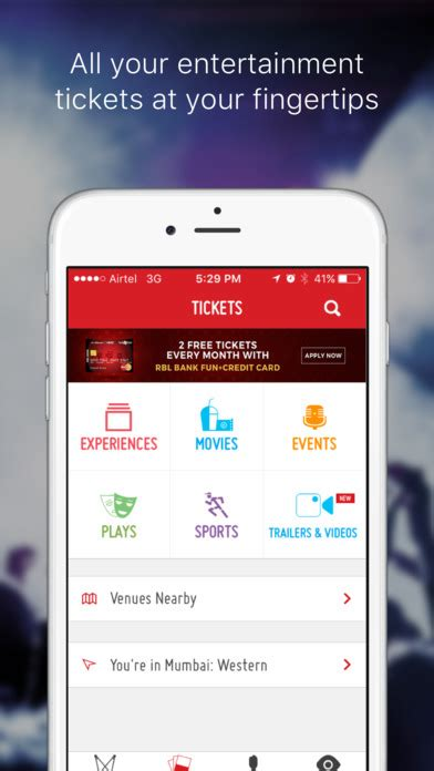 bookmyshow z square bookmyshow movie event play tickets free download ver 3