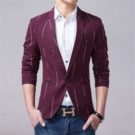 Hq 15019 Buttoned Casual Top high quality casual slim fit blazer navis