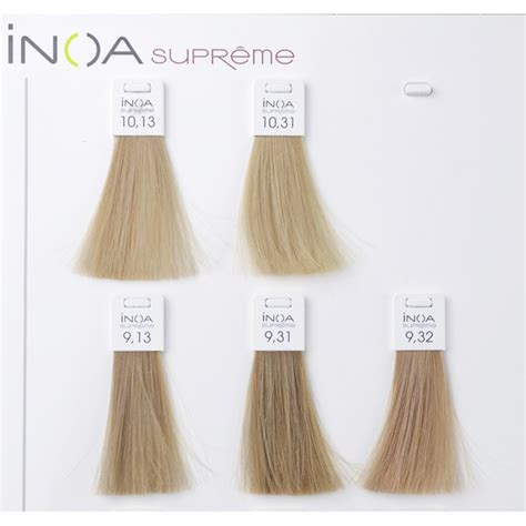 inoa supreme colour chart l or 201 al professionnel inoa supreme haarfarbe notino de