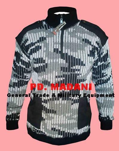 Sweater Loreng Kopassus sweater loreng tni grosir konveksi perlengkapan militer