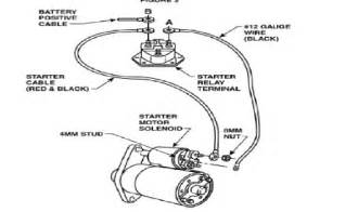 ford starter wiring diagram efcaviation