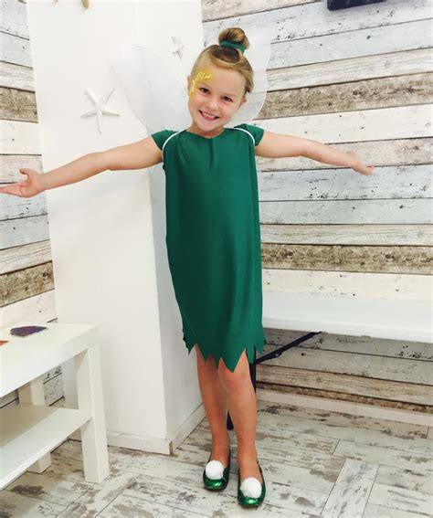 make your own easy cheap tinkerbell costume