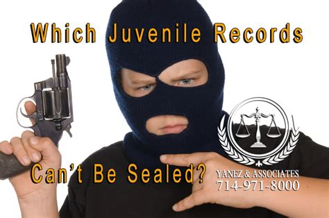 Juvenile Records Process For Sealing Juvenile Criminal Records In Oc California
