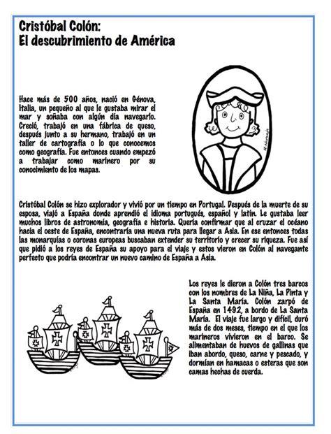 biography en ingles de christopher columbus christopher columbus s trip to america spanish lesson
