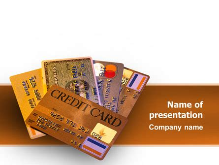 credit card ppt templates free plastic credit card presentation template for powerpoint