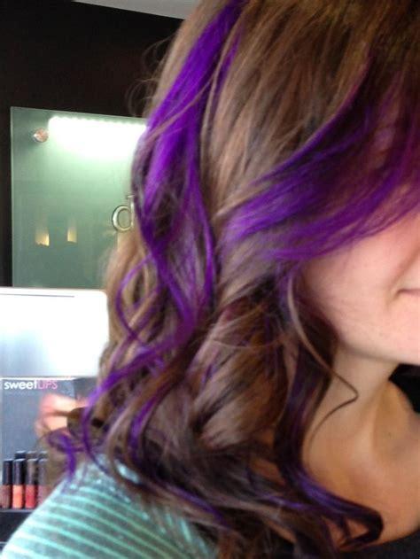 hairstyles peekaboo highlights purple peekaboo highlights photomy hair styles pictures
