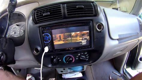 ford ranger pioneer double din dvd tv mb quart