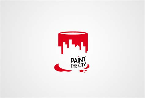 design logo in paint 30 clever exles of negative space logos bored panda