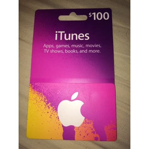 Itunes Gift Card Picture - 100 dollar itunes gift card photo 1