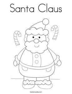 pictures of santa claus to color santa claus coloring page twisty noodle