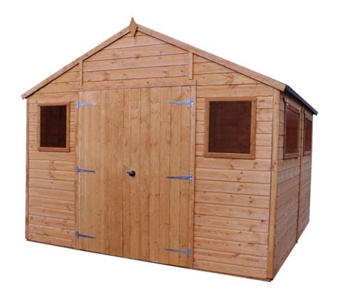 Tongue And Groove Or Overlap Shed by Premium Shiplap T G Workshop Sheds4you