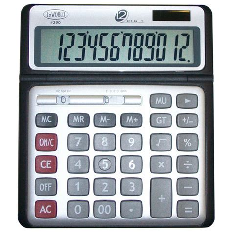 Calculator Joyko 12 Digits Standard Desktop Calculator 12 digit jumbo display desktop dual power calculator