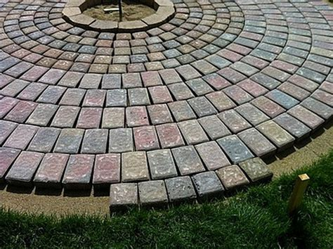 Diy Fire Pit 10 Home Design Garden Architecture Blog How To Build A Firepit With Pavers
