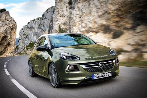 Opel Adam 2017 D 233 Poussi 233 Rage En Vue