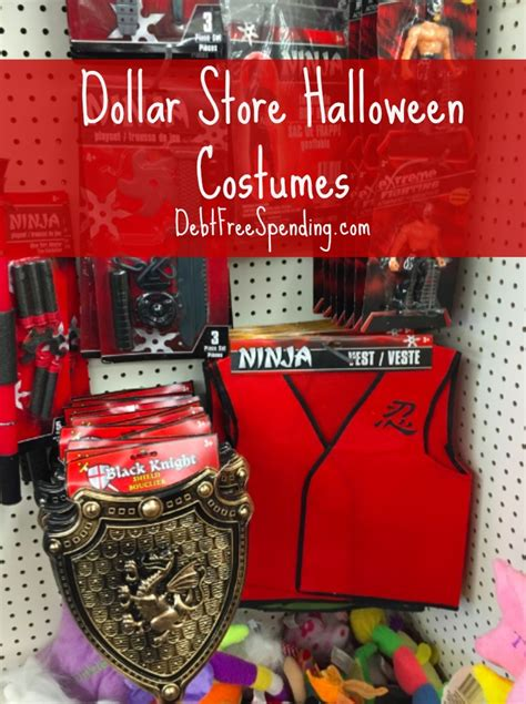dollar store halloween costumes debt  spending