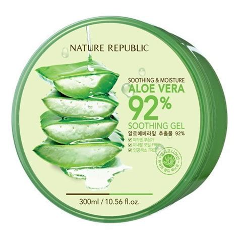 Nature Republic 92 by Nature Republic Aloe Vera 92 Soothing Gel Of 12