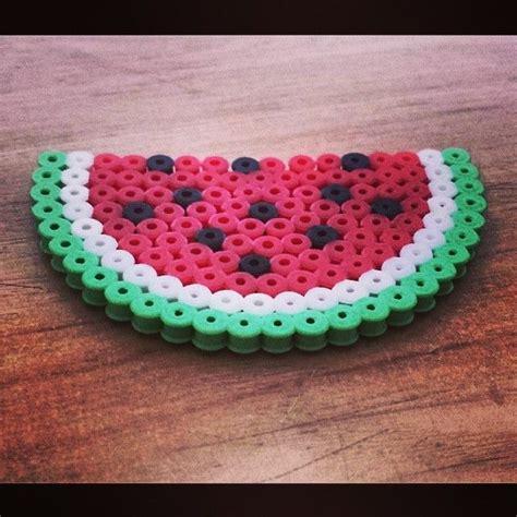 watermelon perler 121 best images about perler on perler
