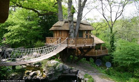 real life treehouse now that s a real millionaire play pad the luxury tree