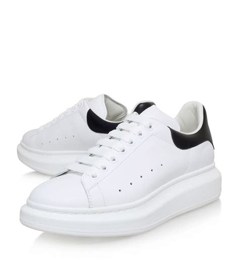 mcqueen mens sneakers mcqueen leather show sneaker harrods
