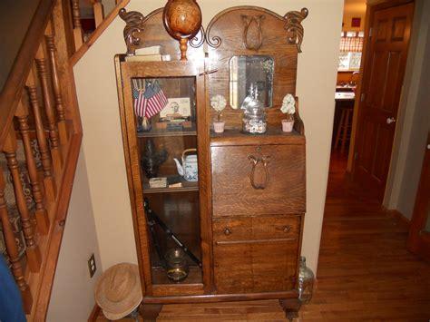 Antique Secretary Curio Cabinet Secretary Desk Curio Cabinet For Sale Antiques Com