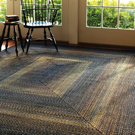 buy black forest outdoor braided rugs  homespice