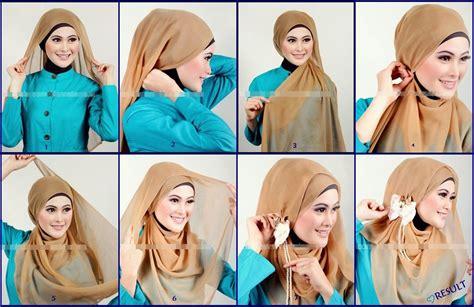 tutorial hijab buat kondangan 13 tutorial hijab simpel dan cantik yang cocok buat kondangan