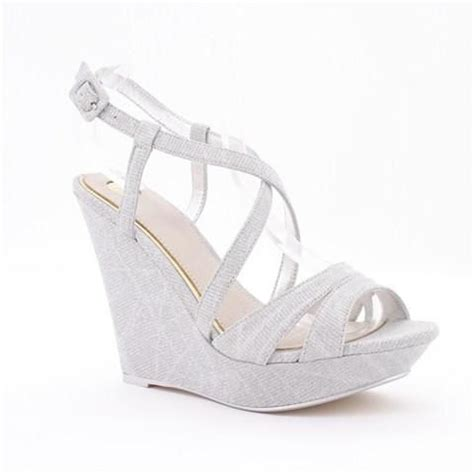 Sparkly Wedges For Wedding by Sparkly Silver Wedges For During The Reception