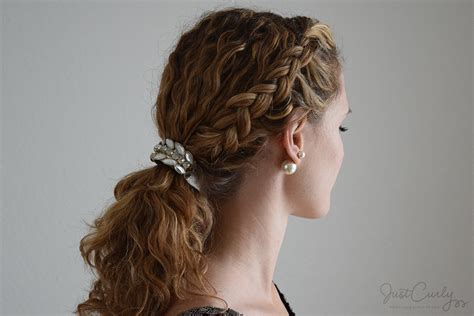 different hair styles for short curly hair in tamil styling a dutch braid with curly hair three different ways