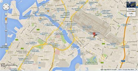 dubai on map uae dubai metro city streets hotels airport travel map info detail al jiyad stables dubai