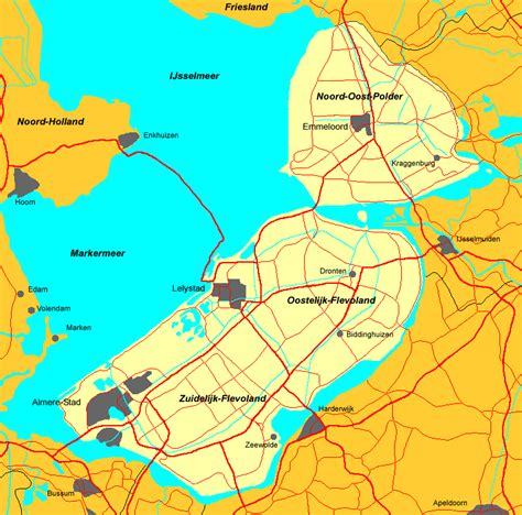 map lelystad netherlands observations of a dutchman the netherlands and its