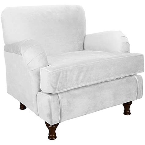 bed bath and beyond sherman tx skyline furniture sherman kids chair in velvet white