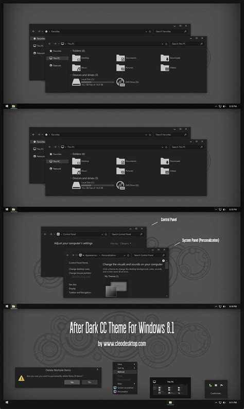 expo themes for windows 8 1 after dark cc theme for windows 8 1 by cleodesktop on