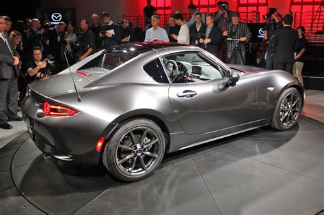 latest mazda cars mazda puts a lid on it new mazda mx 5 rf revealed at 2016
