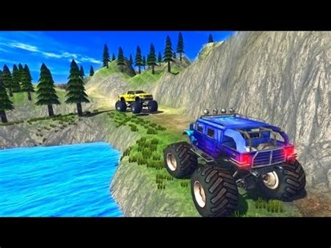 monster truck video games free monster truck driver 3d free android game youtube