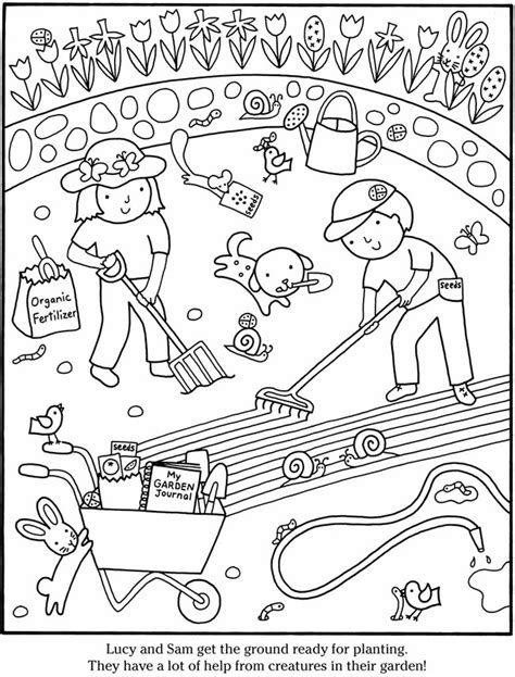 coloring page vegetable garden printable coloring pages vegetable garden coloring pages