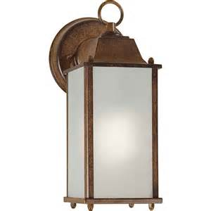 rustic outdoor wall lights shop 11 in h rustic outdoor wall light at lowes