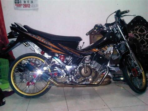 Satria Fu 2014 by Modif Satria Fu Terbaru 2014 Modif Motor