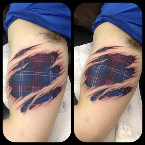 tartan tattoo designs 65 awesome scottish tattoos and ideas