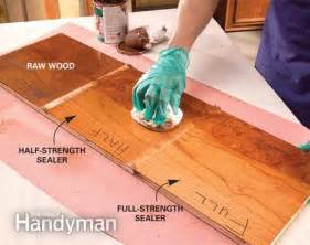 How to stain wood evenly without getting blotches and dark spots the